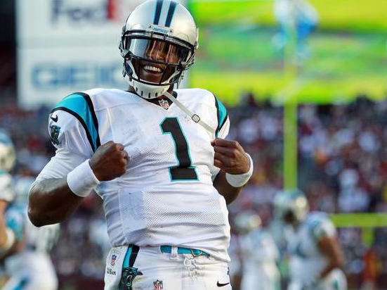Cam Newton earned Week 12 NFC offensive player of the week honors
