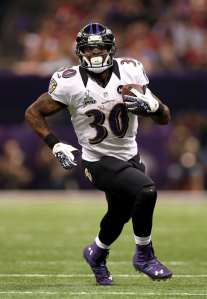 Ray Rice is out, Bernard Pierce becomes the #1 Flex option
