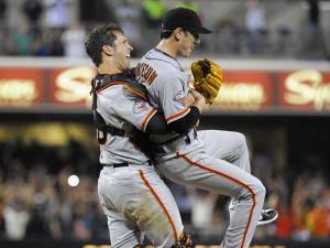 The only highlight from the Giants' season so far. Either team.
