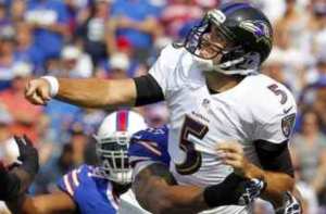 5 INT's was just too much to overcome for Flacco and the Ravens