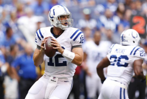 Luck is the reason the Colts are playoff contenders right now