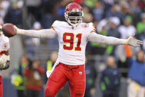 Tamba Hali had 3.5 of the Chiefs 10 sacks on the day