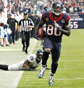 Let's give Andre Johnson some love: he's the only Texans player that's still producing